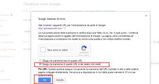 posizionare pagine sito su google