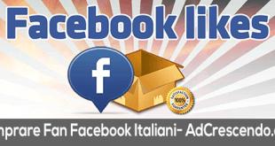 comprare fan facebook italiani