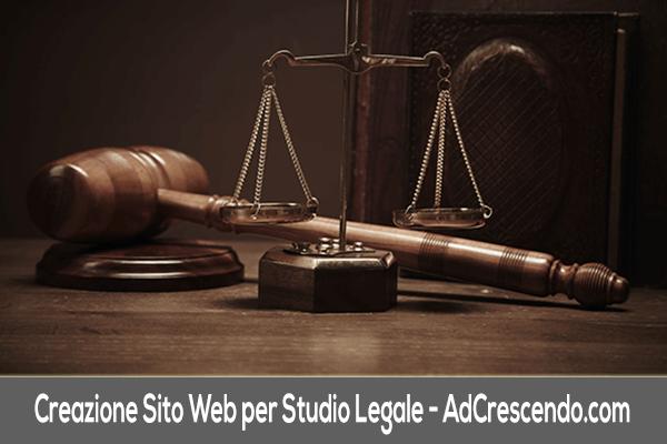 creazione sito web per studio legale