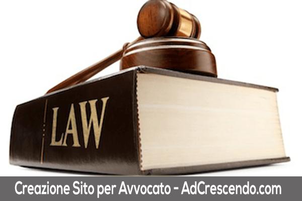creazione sito web avvocato
