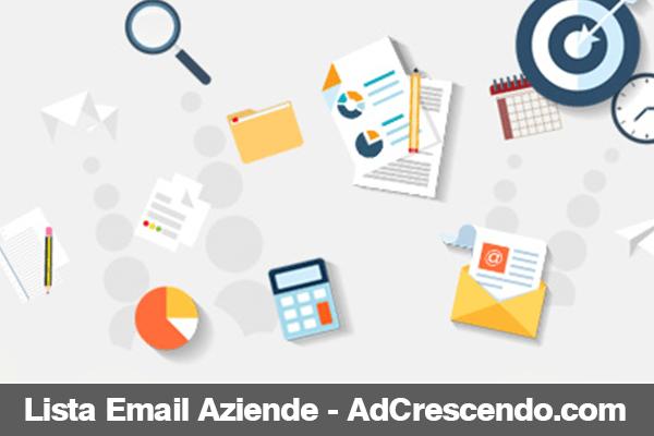 lista email aziende