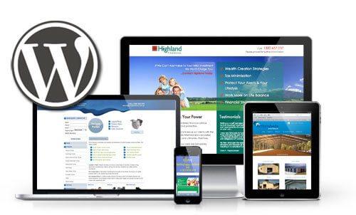 realizzazione sito wordpress