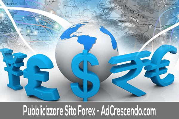 Pubblicizzare sito forex