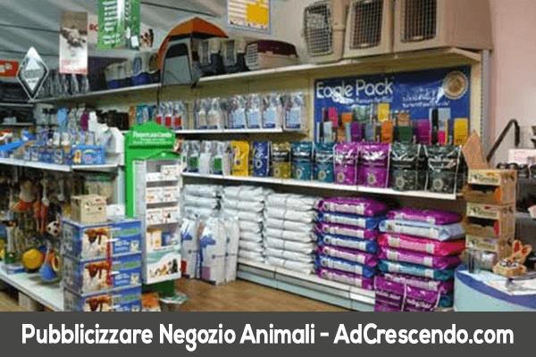 pubblicizzare negozio animali