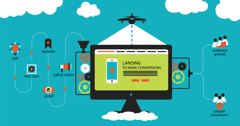 pubblicizzare landing page