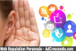 web reputation personale