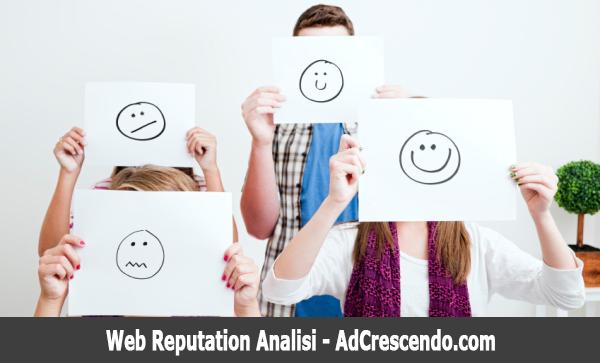 web reputation analisi