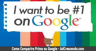 come comparire primo su google