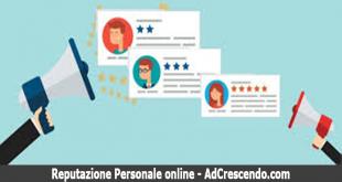 reputazione personale online