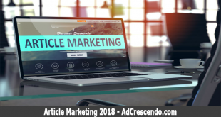 article marketing 2018
