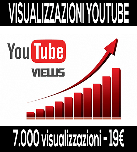 comprare visualizzazioni youtube