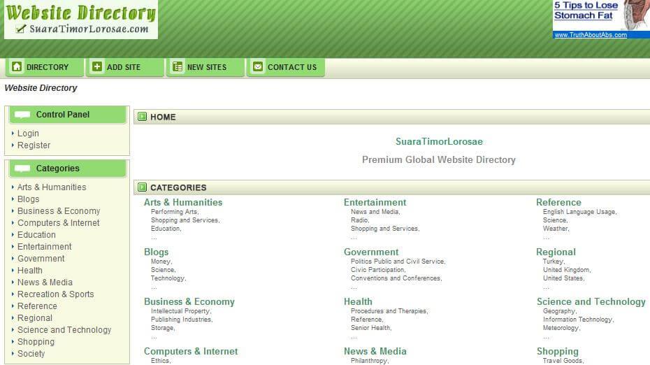 lista directory italiane