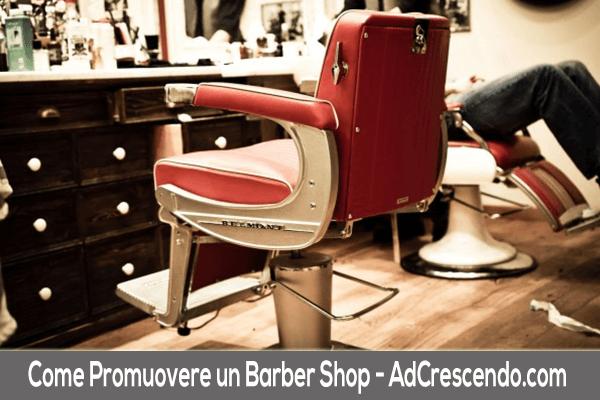 come promuovere un barber shop