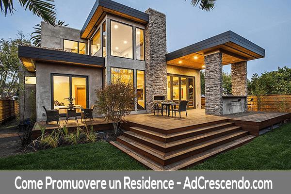 come promuovere un residence