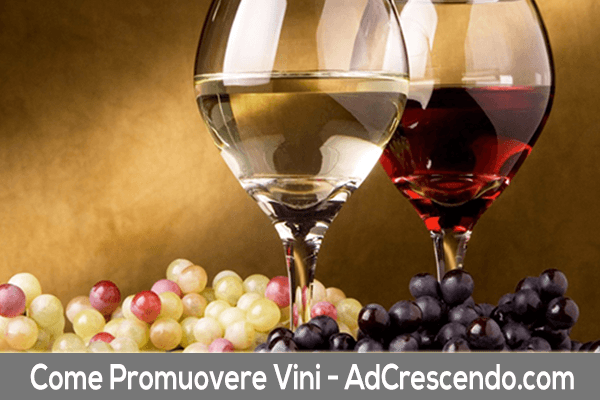 come promuovere vini