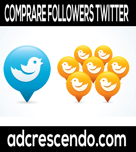 Comprare Followers Twitter