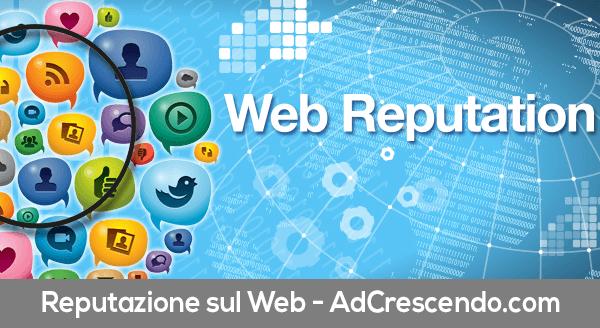 reputazione sul web