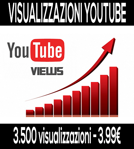 comprare visualizzazioni youtube reali