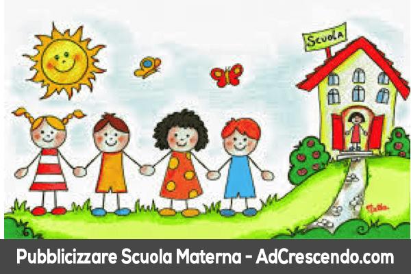 pubblicizzare scuola materna