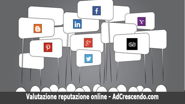 valutazione reputazione online