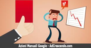azioni manuali google