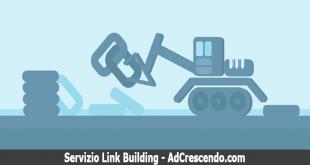 servizio link building