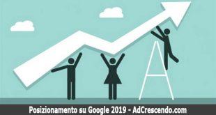 posizionamento su google 2019