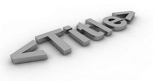Tag Title SEO - Metodi di Ottimizzazione Efficaci.