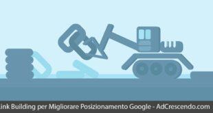 link building per migliorare posizionamento google
