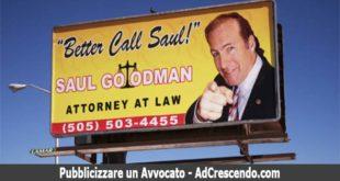pubblicizzare un avvocato