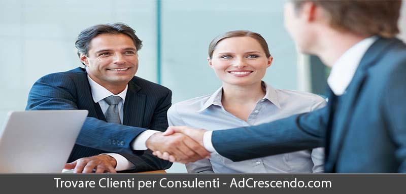 trovare clienti per consulenti